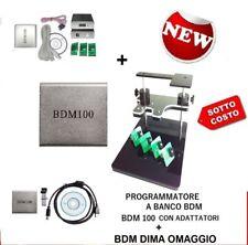 DIMA BDM +4 SCHEDINI A MOLLA + BDM100 PROGRAMMATORE BANCO x CENTRALINE RIMAPPAT
