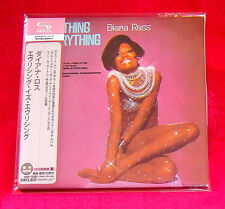 Diana Ross Everything Is Everything JAPAN SHM MINI LP CD UICY-75382