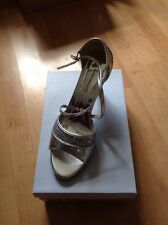 Beautiful Size 7 Silver/glitter Heels, New Shop Clearance (Tammy)