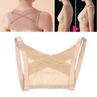 Chest Support Belt Back Shoulder Posture Corrector Correction Brace Vest S!mz