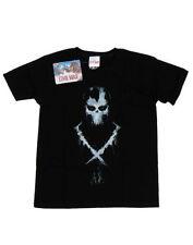 T-shirts, débardeurs et chemises noir coton mélangé Marvel pour garçon de 2 à 16 ans