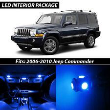 2006-2010 Jeep Commander Blue Interior LED Lights Package Kit