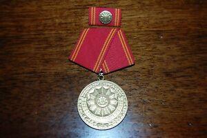 DDR Orden Medaille Volkspolizei Für 25 Jahre Treue Dienste mit Interimsspange