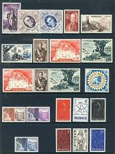 Monaco 1952-1956 run of 6 commemoratives mint(2017/05/24#15)