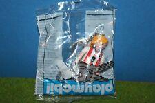 Playmobil Llavero Fußballerin Nuevo en Lámina Misb Figura de Publicidad