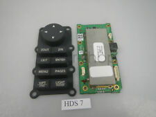 Lowrance HDS7 HDS-7 Gen1 GPS Fishfinder  Keypad Circuit Board and rubber button