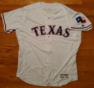 *WOW* TEXAS RANGER AUTHENTIC Majestic Jersey Mens 52 baseball cool base