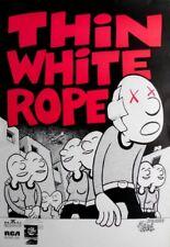 Thin White Rope - 1990-TOUR MANIFESTO-Concert-sacco Full of Silver-TOUR Poster