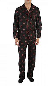 Deadpool All Over Print Polyester Unisex Pajama Set