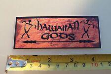 New listing Hawaii Gods Tiki Spear Hawaiian Surfboards Hawaii Rare Vintage Surfing Sticker