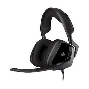 NEW Corsair Void Elite Gaming Headset On Ear Volume Buttons Memory Foam Earpads