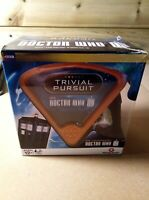 Doctor Who Trivial Pursuit  Game with action figure of The tenth DOCTOR.