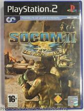 COMPLET jeu SOCOM II US NAVY SEALS sur playstation 2 sony PS2 game action guerre