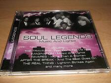 SOUL LEGENDS - MUSIC AND LIGHTS - CD ALBUM - UK FREEPOST