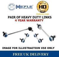 FOR CITREON C3 FRONT ANTIROLL BAR DROP STABILISER LINK HEAVY DUTY MEYLE HD PAIR