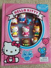 Hello Kitty Stuck On Stories Playset / Book / Toy / Activity Set