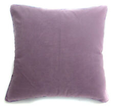 Mb62a Lilac Purple Flat Velvet Style Cushion Cover/Pillow Case *Custom Size*