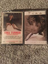 TINA TURNER PRIVATE DANCER CASSETTE TAPE- CAPITOL- 1984 With What's Love Got To