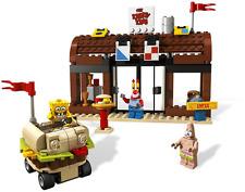 Lego 3833 SpongeBob KRUSTY KRAB ADVENTURES Complete w/Instructions