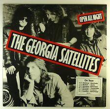 "12"" LP-The Georgia Satellites-Open All Night-a4226-Slavati & cleaned"