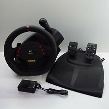 MOMO LOGITECH RACING WHEEL (+Pedals + Power Supply) for PC (T200)