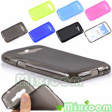 COVER CUSTODIA CASE SILICONE SEMITRASPARENT