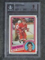 BGS 9 Mint w/10 Steve Yzerman Rookie 1984-85 Topps #49 Detroit Red Wings RC