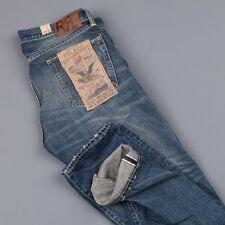 RRL Double RL  Low Straight  in Yosemite Wash Selvedge Denim Men's Jeans 36/32
