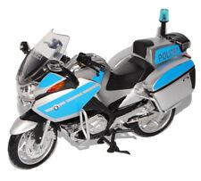 BMW R1200 R 1200 Rt-p Rt Polizei Silber Blau 1/12 New Ray Modellmotorrad Motorra