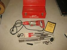 Milwaukee Heavy Duty Rotary Hammer Drill 34 In 5351 Excellent Condition