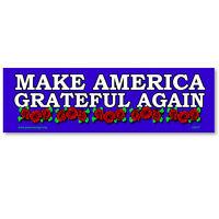CS217-MAG Make America Grateful Again Anti President Donald Trump Magnet