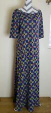 LulaRoe Boho Chic ANA Long Maxi Dress Womens Plus Size 3XL Geometric Unicorn