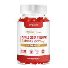 Apple Cider Vinegar Gummies with The Mother (30 Servings) - 1,000MG
