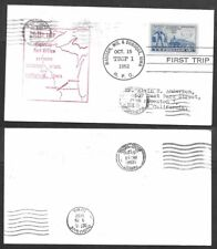 1952 Cover - Highway Post Office - Madison, Wisconsin to Dubuque, Iowa