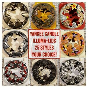 Yankee Candle Illuma-Lid • 25 Styles • LOWEST PRICES • FREE SHIPPING