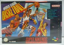 WORLD LEAGUE BASKETBALL - SNES SUPER NINTENDO PAL VERSION BOXED
