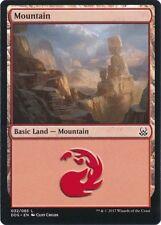 4 x Mountain (032/065) - Mind vs. Might - Magic the Gathering MTG Basic Land