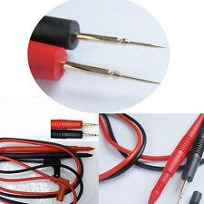 1par Cables Multímetro Puntas De Prueba Sonda Rojo Y Negro Repuesto digital