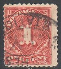 SC#J61 1917 1c Postage Due Single Perf 11 Used (J6102)