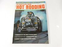 Vintage Original August 1967 Popular Hot Rodding Magazine Custom Car Mods