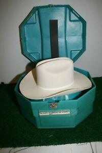 Vintage Smithbilt Calgary Stampede Rodeo Presentation VIP Cowboy hat in Case