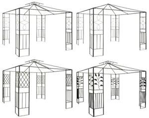 Pavillongestell aus Metall 4 versch. Modelle Pavillon Gartenpavillon Pavillion