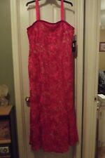 Womens Formal Red Dress Size 18W, FREE SHIPPING