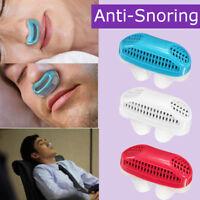 Clip de nariz de silicona Anti ronquido Dilatadores nasales Dispositivo de ayuda