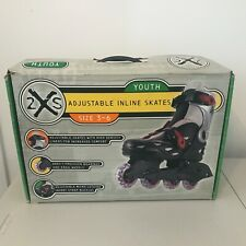 X2S Youth Inline Skates Adjustable 3-6 Used