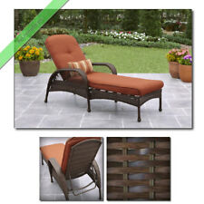 Outdoor Wicker Chaise Lounge Chair Patio Furniture Daybed Garden Pool Lounges