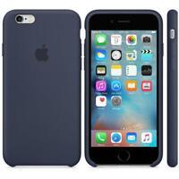 Véritable Apple Silicone Étui pour IPHONE 6 Plus/6s Plus - Bleu Nuit - Neuve