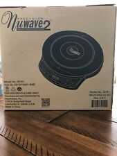 Precision Nuwave 2 Induction Cooktop Black Model # 30151 For Household Use Only
