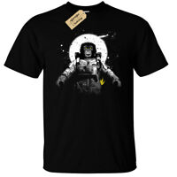 Astronaut Monkey T-Shirt Mens outer space