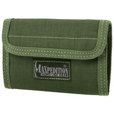 Maxpedition Spartan Wallet Hommes Nylon Trifold Cash Id Carte Titulaire Od Vert